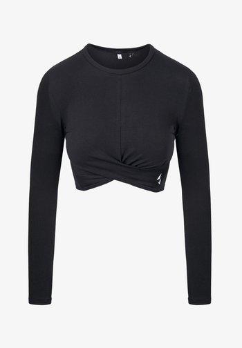 GAIA - Camiseta estampada - black