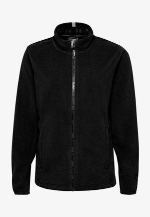 Fleece jacket - black/asphalt