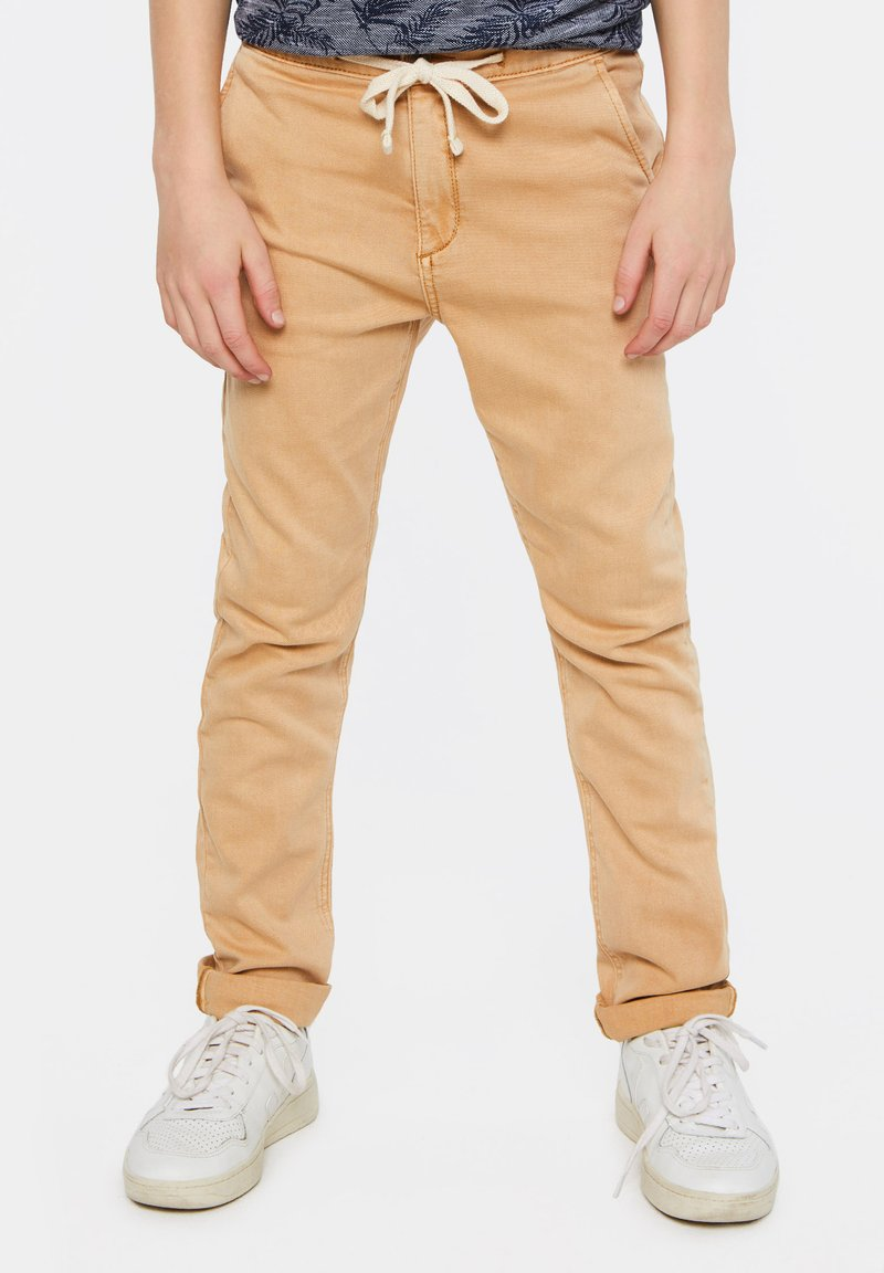 WE Fashion - Pantalones chinos - beige