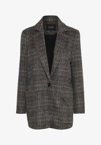 Soaked in Luxury - JILLIAN - Short coat - black/brown/cream - 6