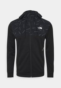 The North Face - TRAIN LOGO OVERLAY JACKET - Träningsjacka - black - 0