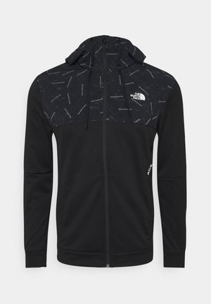 TRAIN LOGO OVERLAY JACKET - Træningsjakker - black
