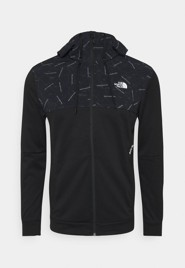 TRAIN LOGO OVERLAY JACKET - Veste de survêtement - black