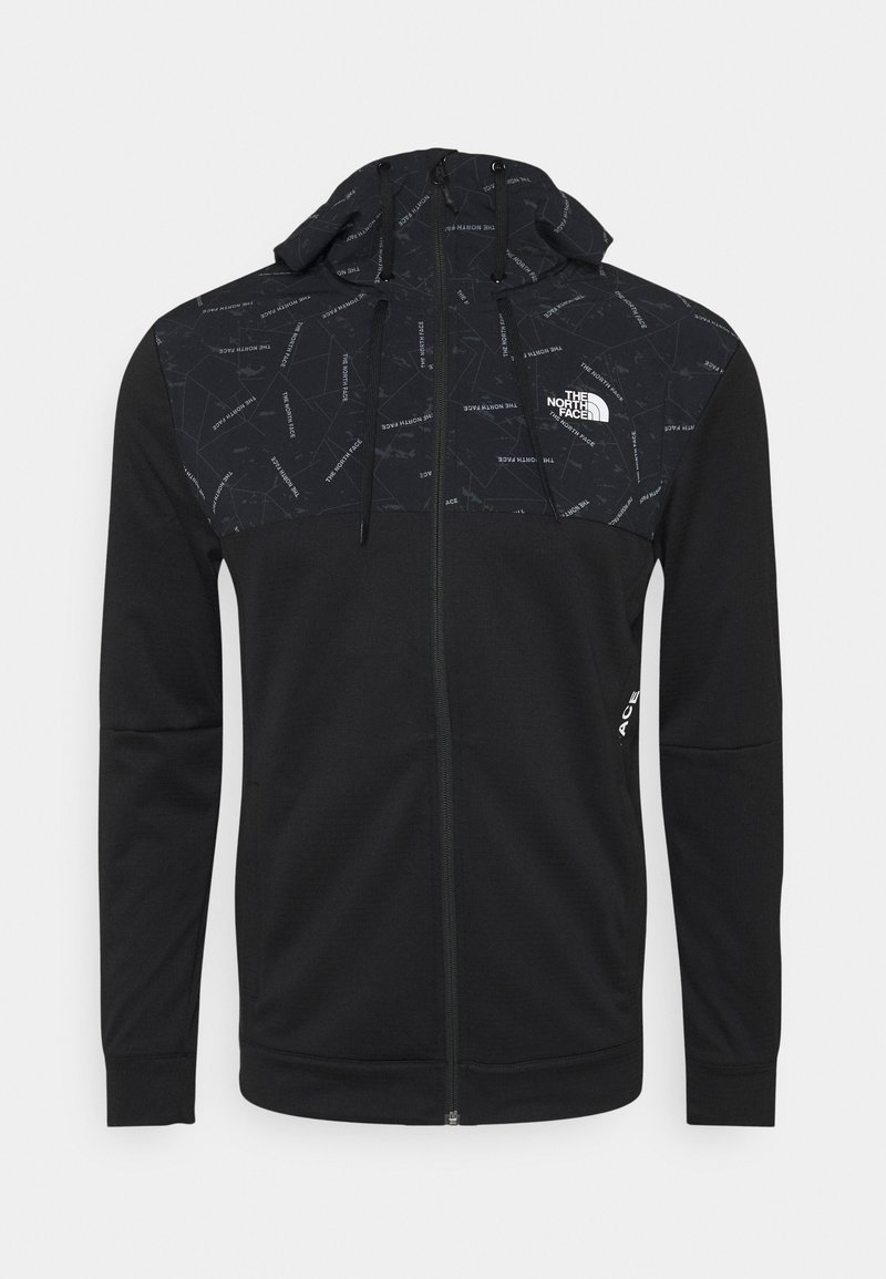The North Face - TRAIN LOGO OVERLAY JACKET - Training jacket - black