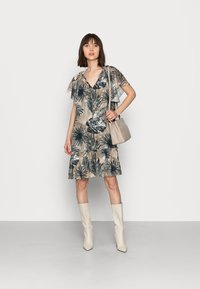 Mos Mosh - TIKKA SHADE DRESS - Day dress - vintage indigo - 1