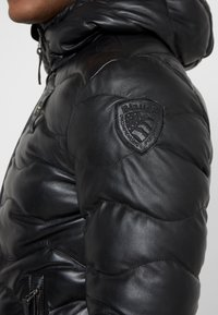 Blauer - Leather jacket - black