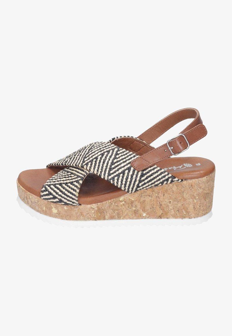 Piazza - Wedge sandals - black