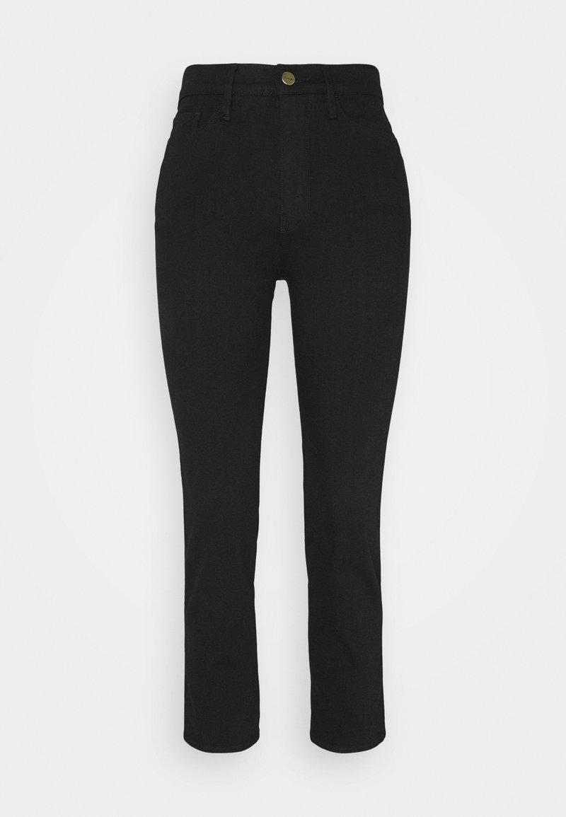 Frame Denim - LE PIXIE SYLVIE - Straight leg jeans - film noir