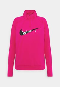 Nike Performance - RUN MIDLAYER - Treningsskjorter - fireberry/black - 4