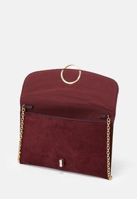 New Look - REESE RING DETAIL - Clutch - dark burgundy - 2