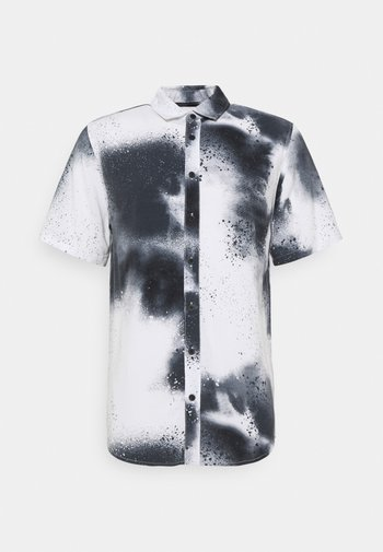 SHORT SLEEVE SHIRT AEROSOL - Shirt - white/black
