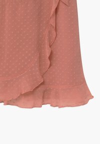 Abercrombie & Fitch - BARE WRAP RUFFLE - Day dress - ash rose - 2