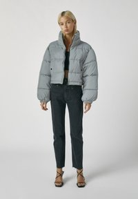 PULL&BEAR - Winter jacket - metallic grey - 1