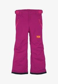 Helly Hansen - LEGENDARY  UNISEX - Snow pants - festival fuchsia - 4
