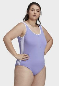 adidas Originals - ADICOLOR CLASSICS PRIMEBLUE BADEANZUG – GROSSE GRÖSSEN - Swimsuit - purple - 3