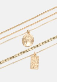 Pieces - PCKELLIGE COMBI NECKLACE - Smykke - gold-coloured - 2