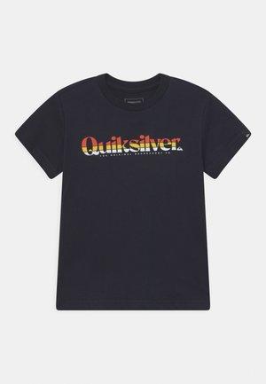 PRIMARY COLOURS BOY - Print T-shirt - black