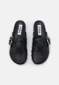 ASRA - FENTON - Sandalias planas - black - 5