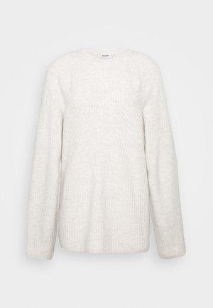 MONA  - Jumper - off-white melange