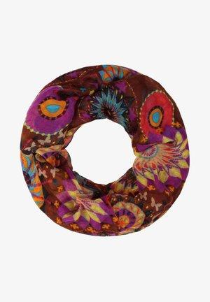 Kruhová šála - multicolor