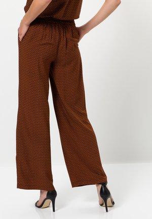 Trousers - terra
