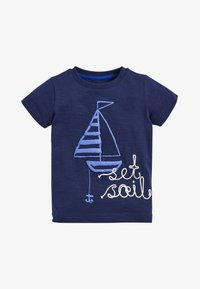 Next - BLUE SET SAIL T-SHIRT AND SHORTS SET (3MTHS-7YRS) - Shorts - blue - 1