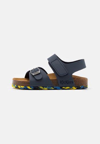 SUNKRO - Sandals - marine