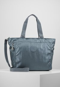 Kipling - NEW SHOPPER - Tote bag - steel geyr metal - 0