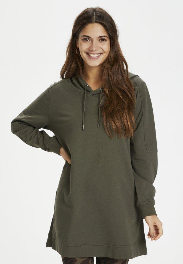 Bluza z kapturem - grape leaf