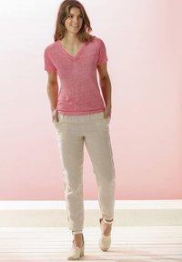 Rosa & Me - Print T-shirt - pink lemon - 4