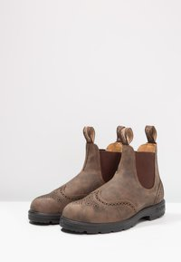 Blundstone - CLASSIC WINGCAP - Classic ankle boots - rustic brown - 2