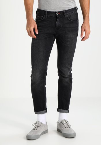BLEECKER - Jeans straight leg - washed black