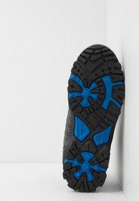 TrollKids - KIDS TROLLTUNGA MID UNISEX - Hiking shoes - anthracite/medium blue - 5