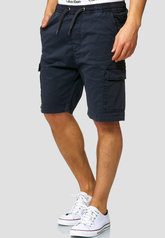 KINNAIRD - Shorts - navy