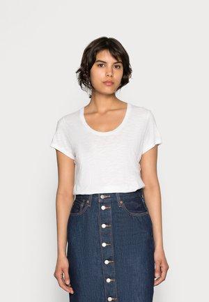 JACKSONVILLE ROUND NECK - Jednoduché triko - blanc