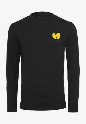 WU-WEAR FRONT-BACK CREWNECK - Sweatshirt - black