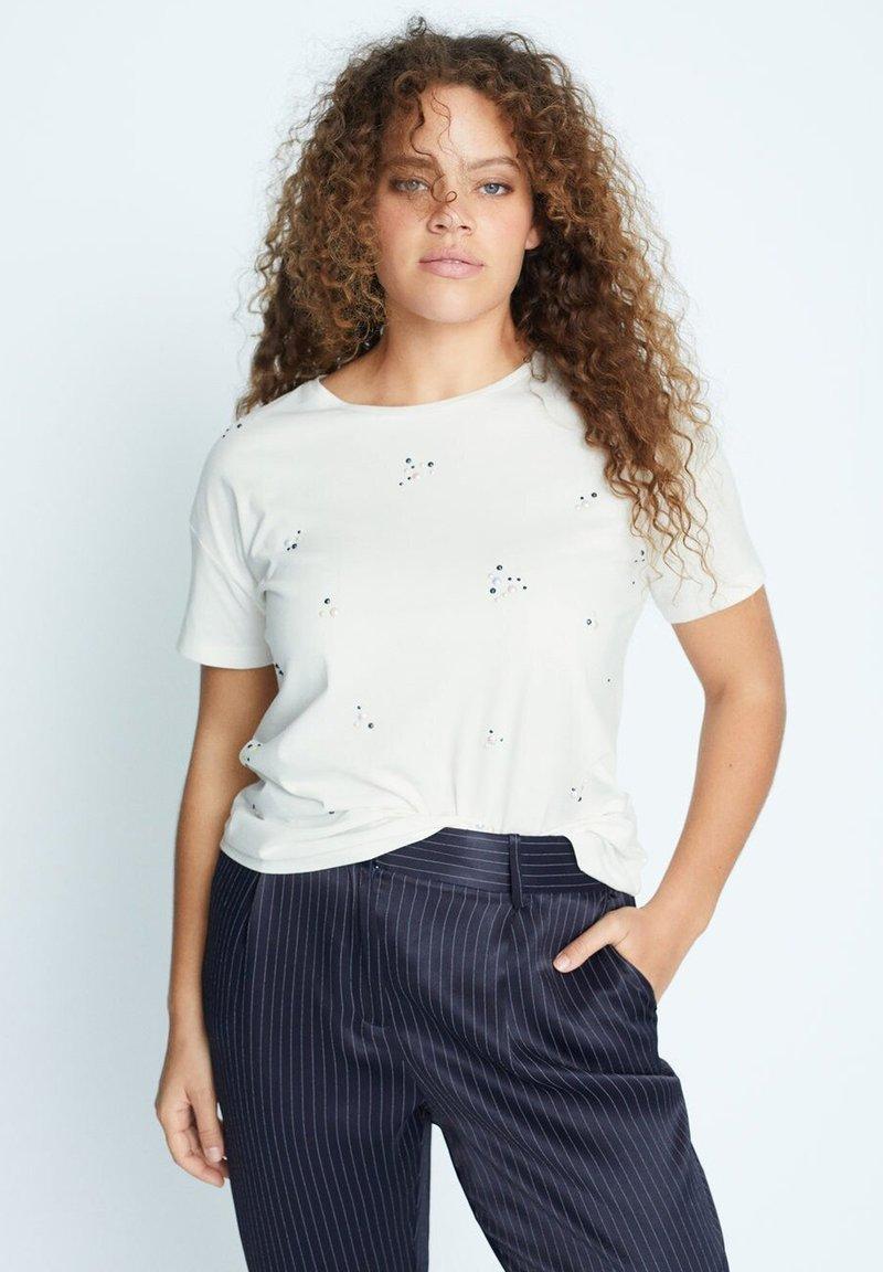 Violeta by Mango - EASYLUX2 - T-shirts print - wit