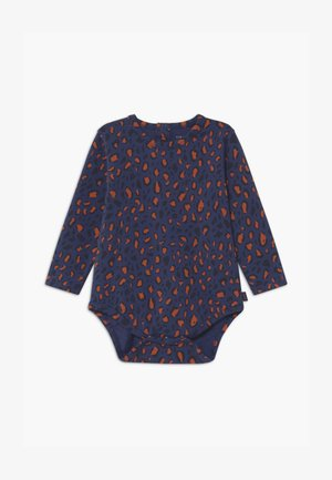ANIMAL PRINT - Body - light navy/dark brown