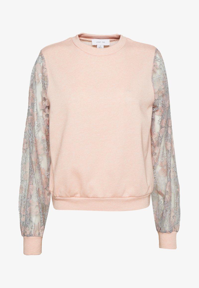 Lost Ink - Sweatshirt - apricot melange