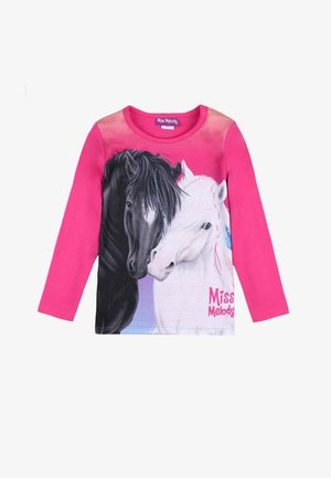 MISS MELODY - Long sleeved top - fuchsia rose