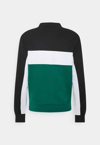 Lacoste Sport - TENNIS - Sweatshirt - black/bottle green/white - 7