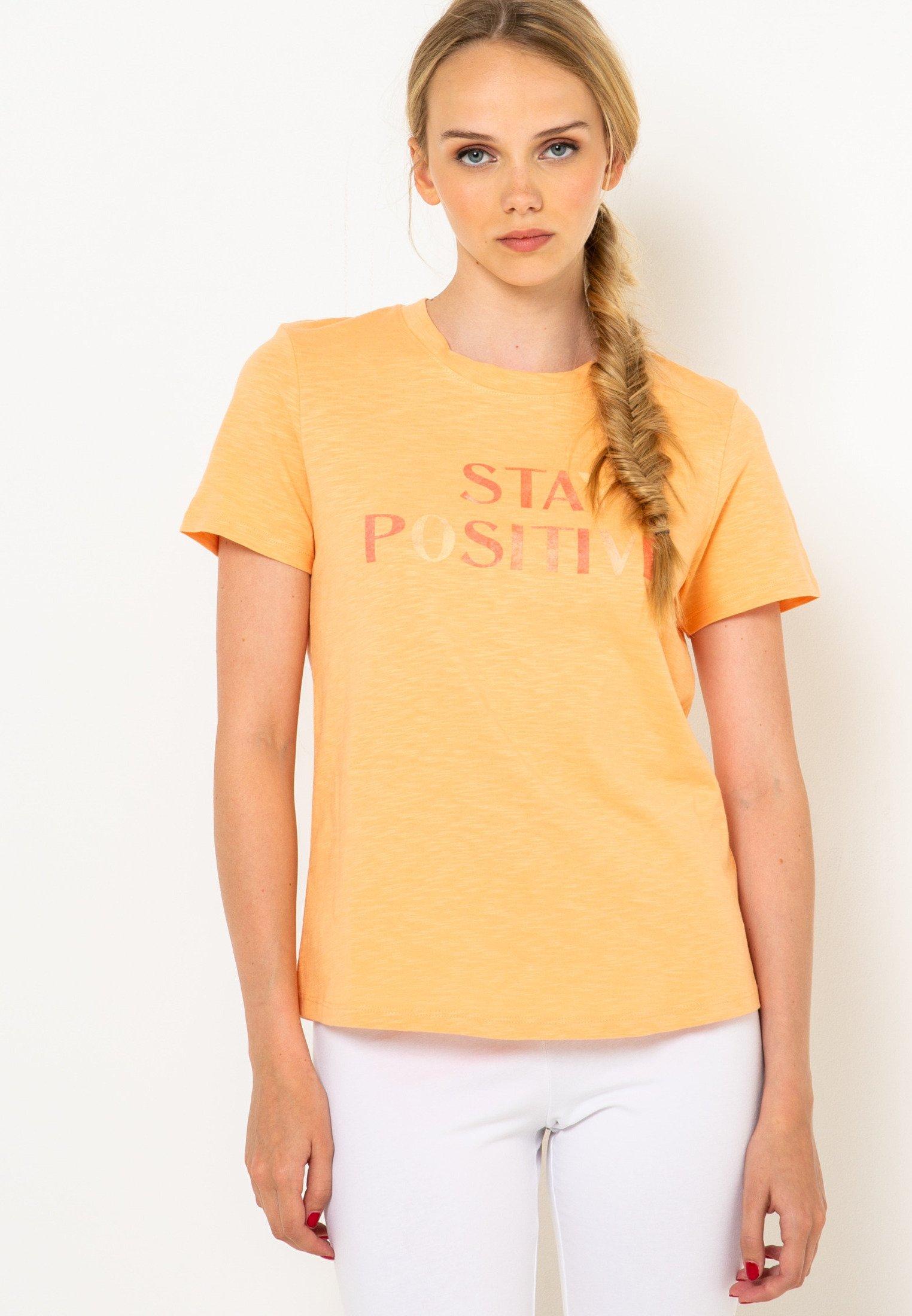 Femme SMILE IS MY WAY OF LIFE - T-shirt imprimé