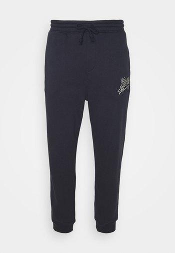 BOSS X RUSSELL ATHLETIC JAFA - Pantaloni sportivi - navy