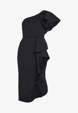 ONE SHOULDER MIDI DRESS - Koktejlové šaty/ šaty na párty - navy