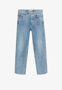 Mango - PREMIUM - Straight leg jeans - mellanblå - 5