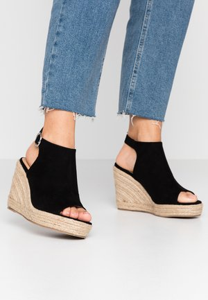 WIDE FIT PERU - Sandalias de tacón - black