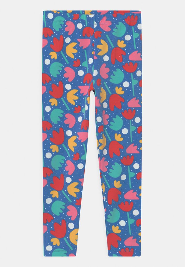LIBBY PRINTED FLORAL - Leggings - Trousers - blue