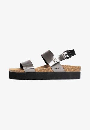 GLADSTONE - Sandały na platformie - dark grey