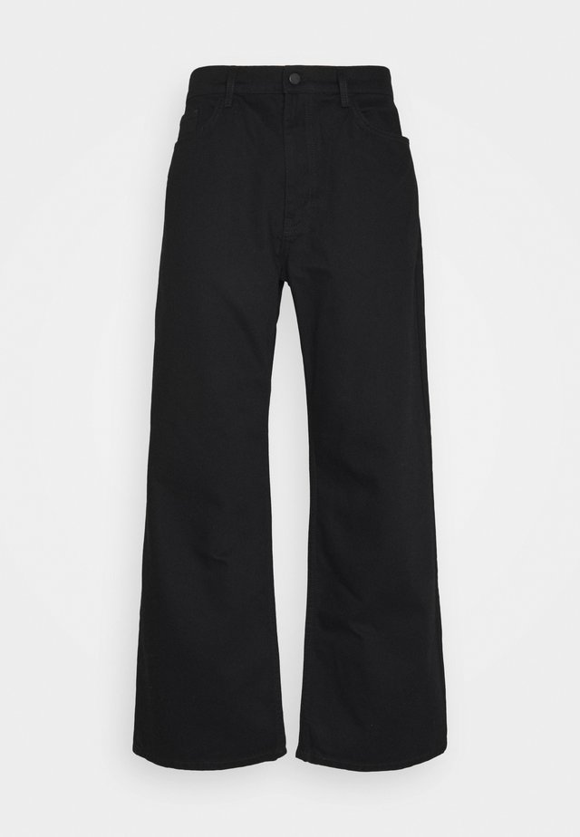 GALLUCKS X NU IN COLLECTION WIDE LEG  - Jeans baggy - black