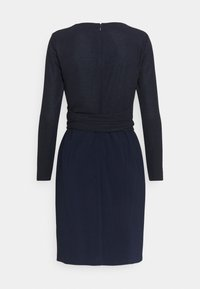 Lauren Ralph Lauren - BONDED DRESS COMBO - Shift dress - lighthouse navy - 6
